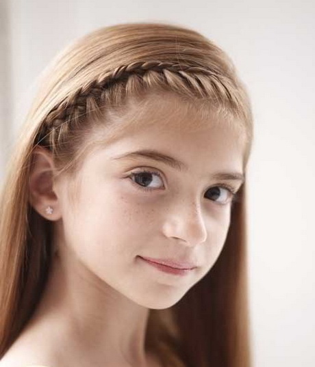 French braid hairstyles for girls