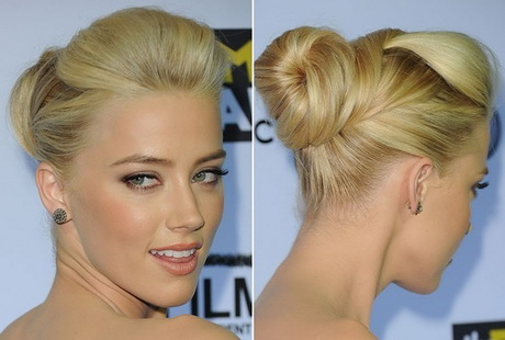French Braid Updo Hairstyles