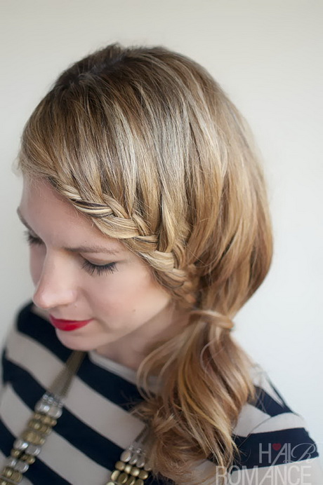 Image Result For Braid Hairstyle For Short Hair Tutorial