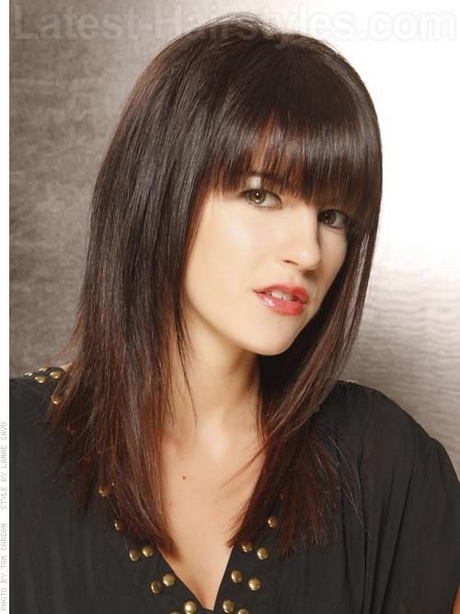 Full Fringe Hairstyles