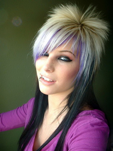 Funky Long Hairstyles