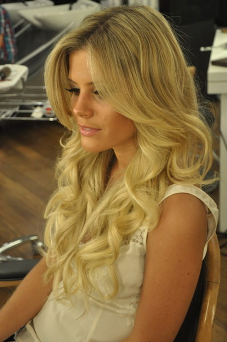 Hairstyles For Long Hair Glamour : Glamour hairstyles for long hair