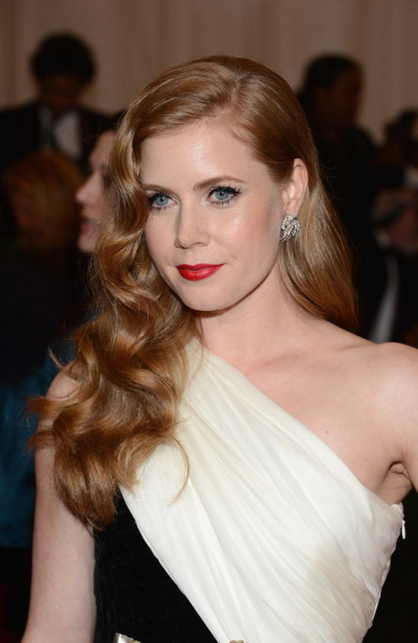 Hairstyles For Long Hair Glamour : hairstyle Picture of Amy Adams hairstyle  formal long wavy hair ...