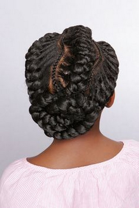 Goddess Braid Hairstyles