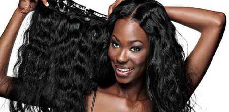 Hair Extensions For Women : ... Clip On Hair Extensions For Black Women Virgin Remy Human Hair Weave