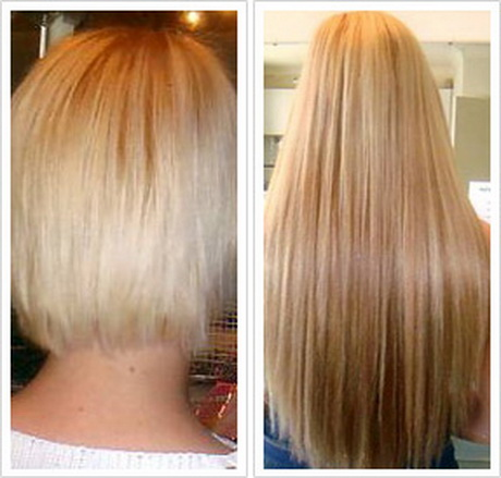 Fusion Hair Extensions Very Short Hair 37