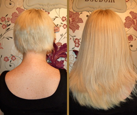 Fusion Hair Extensions Very Short Hair 118
