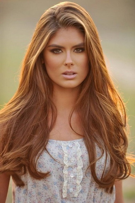 Brilliant Rocking Some Beautiful Long Locks, But Dont Know How To Style Them? Dont Worry, Weve Got You Covered Check Out These Gorgeous Long Hairstyles With Bangs  Extra Edge And Attitude With Sultry Hair Colors Like This Dark Brown, Or Go