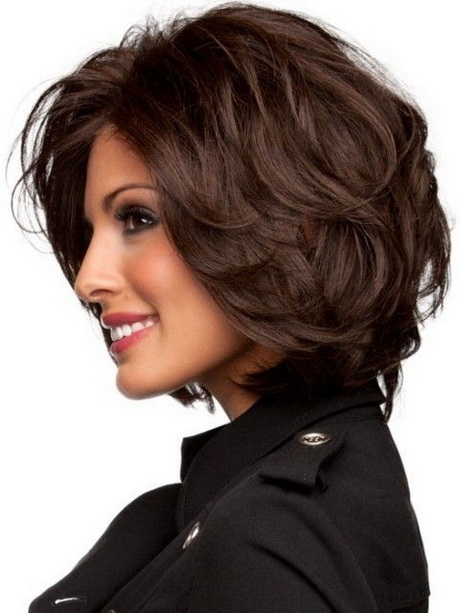 Easy-Brown-Shagy-Hairstyle-Medium-Length-Haircuts-2015
