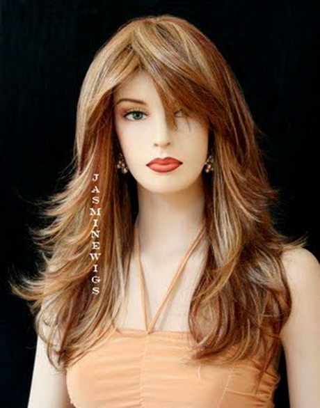 Hairstyles For Long Hair Round Face : Haircuts for long hair and round faces