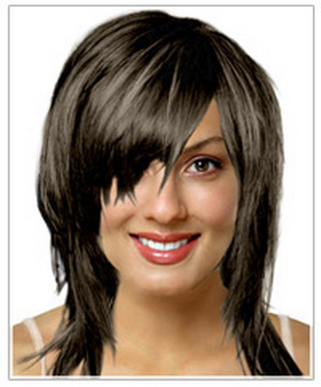Oval face shape long hairstyle From a face shape suitability ...