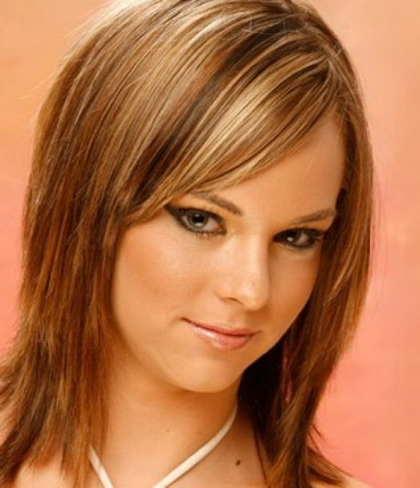 Medium Length Fine Hair Styles shoulder length haircuts for