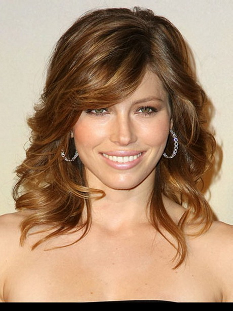 Medium length haircuts for fine hair bangs 30829803 pictures