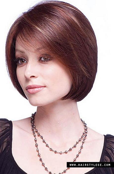 Стрижки женские для тонких волос с челкой