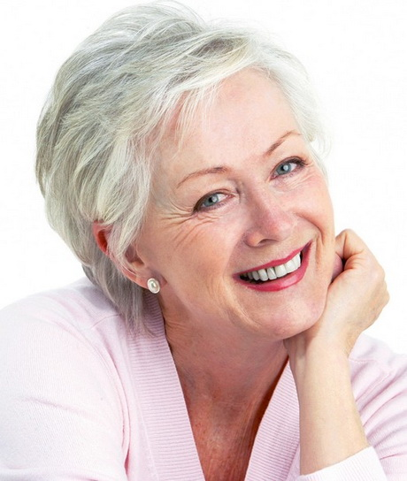 Hairstyle for women over 60