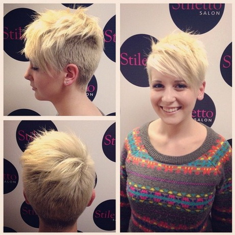 Shaved Haircut for Short Hair – Cute Pixie Hairstyles for Girls 2015
