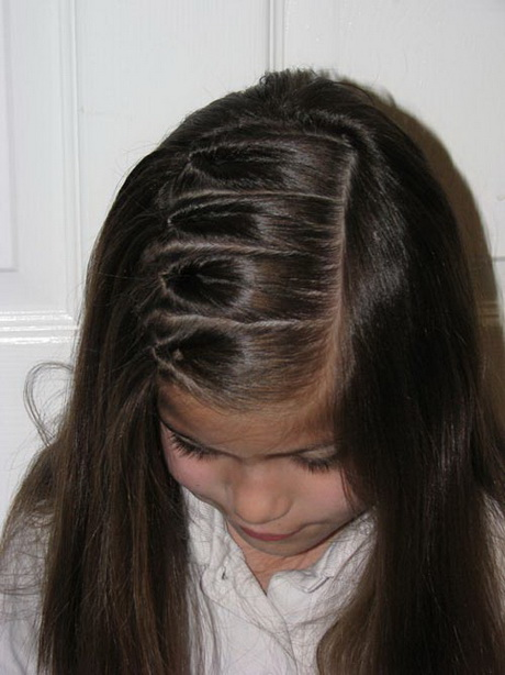 long hairstyles no bangs : Hairstyles for kids with long hair