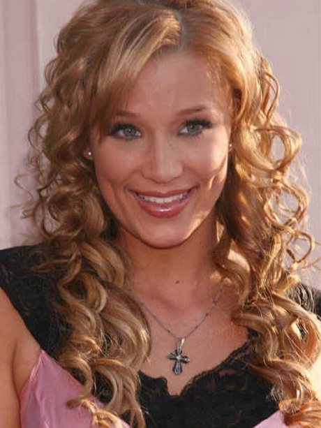Creative 8 Hairstyles For Curly Hair With Bangs Inspiration