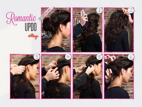 simple hairstyles for long hair step by step instructions