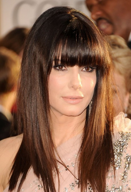 Hairstyles For Long Hair With Fringe