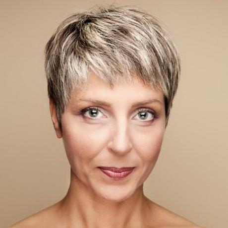 Hairstyles for senior women