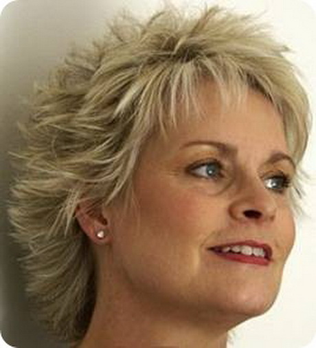 Short Haircut For Women Over 50 With Thin Fine Hair