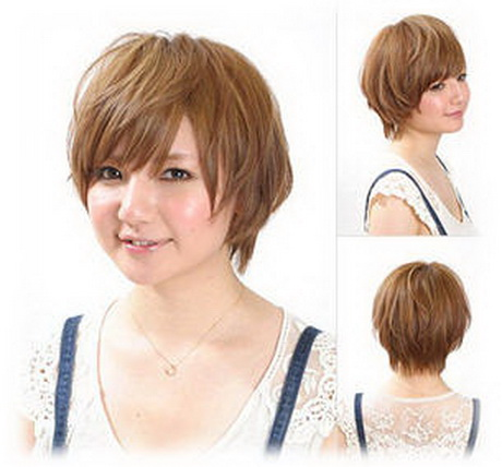 Short Hairstyles for Round Faces Fine Hair