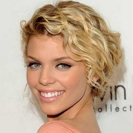 Short Perm Hair-styles are always in trend especially for summer ...