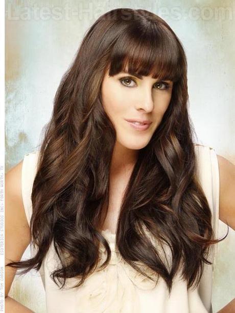 Hairstyles Long Thick Hair : Hairstyles long thick hair