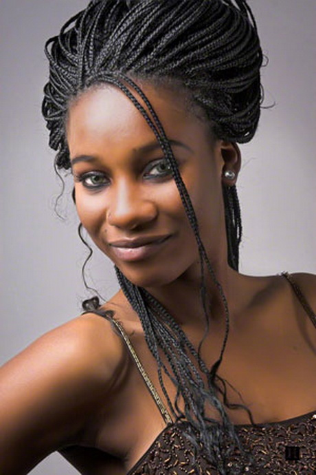 Hairstyles with braids for black women