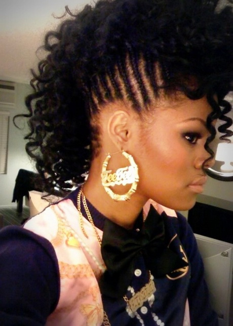 Half Braid Hairstyles