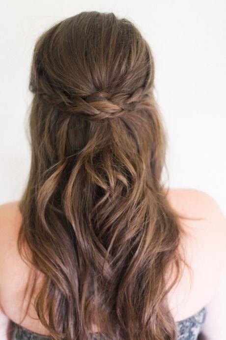 Half-Up Braided Hairstyle | FavHairstyles