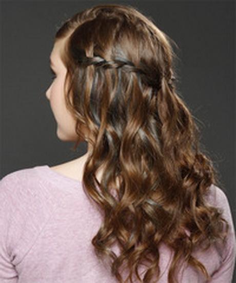 half up wavy long hairstyles - photo #42