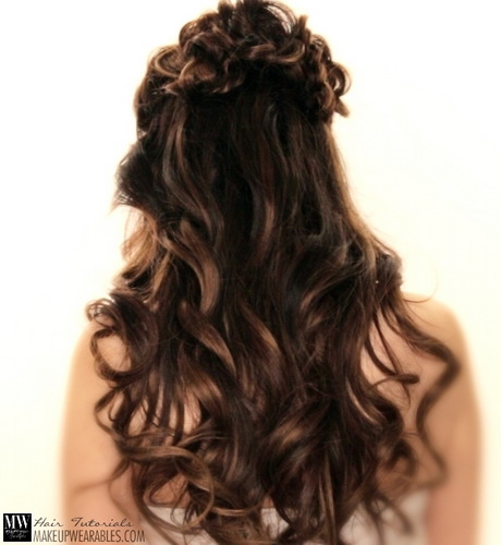 Best 25 Prom hairstyles down ideas on Pinterest  Curled