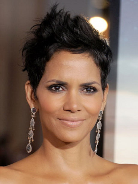Halle Berry Haircut Back View