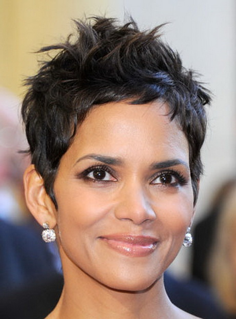 Halle Berry Pixie Haircut