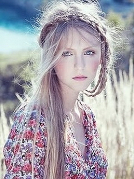 15 best hippie hair & make up images on Pinterest | Hair ... |Hippies Short Hair And Makeup