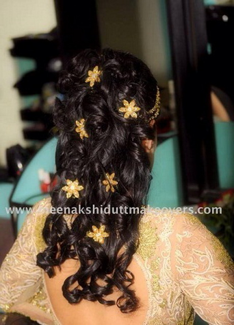 Hairstyles For Long Hair Indian Girl : best indian bridal hairstyle for long hair. This is one hairstyle ...