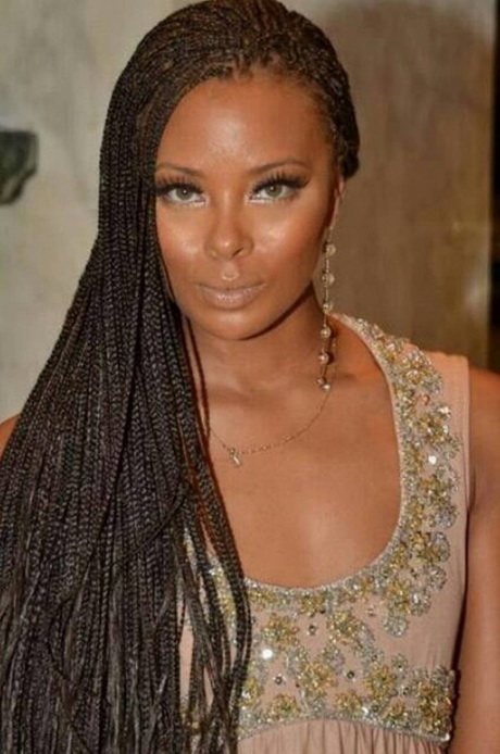 Invisible Braids Hairstyles