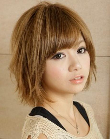 Japanese layered haircut