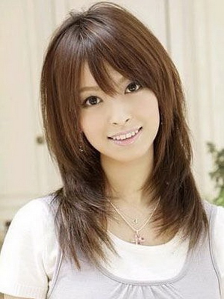 Japanese layered haircuts