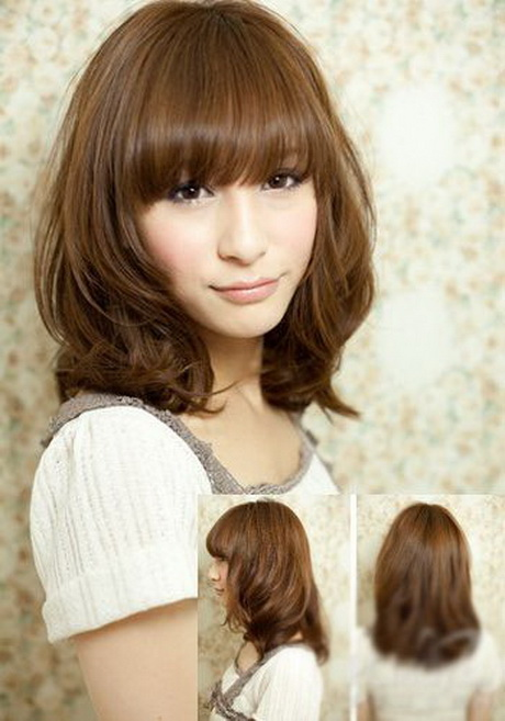 Japanese medium hairstyles