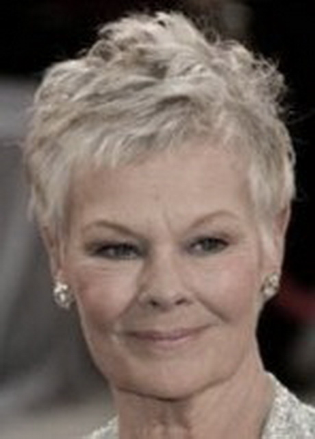 ... over 50 with grey judi dench hairstyle from back judi dench hairstyle