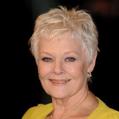 judi dench hairstyle from back judi dench hairstyle front and back of ...