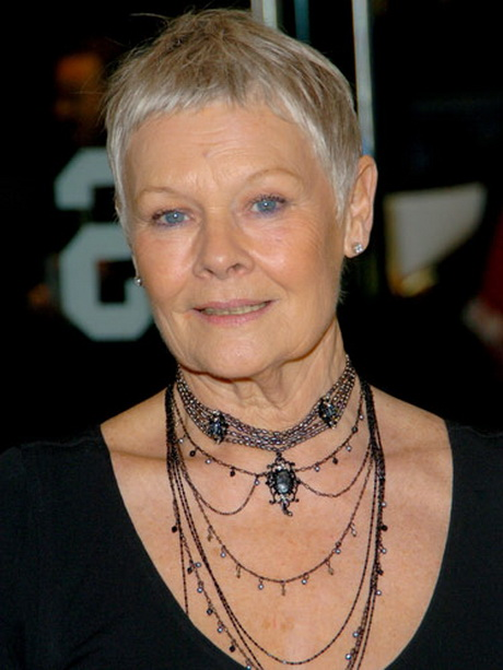 SHORT HAIRSTYLES JUDI DENCH 34866 | Intertain Blog