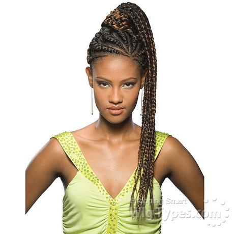 kanekalon braids hairstyles