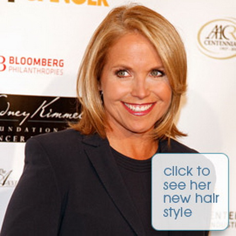 Katie Couric Short Haircut