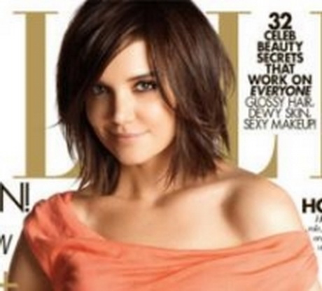 katie holmes new mid length hairstyle hairstyle blog