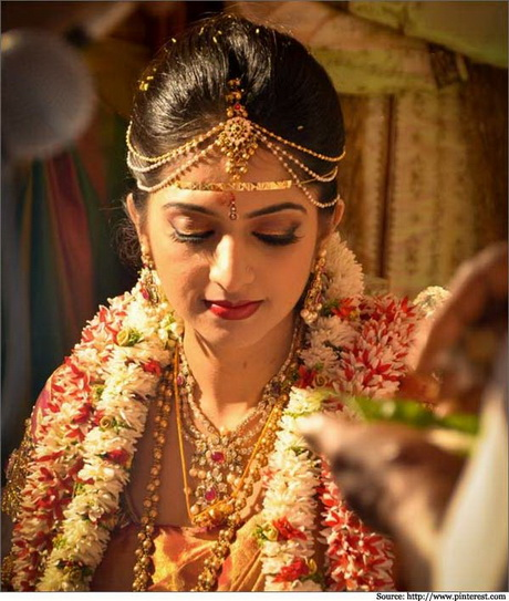 Hindu Kerala Bridal Hairstyle | Joy Studio Design Gallery ...
