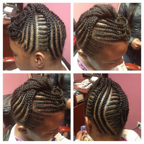Kids braided hairstyles